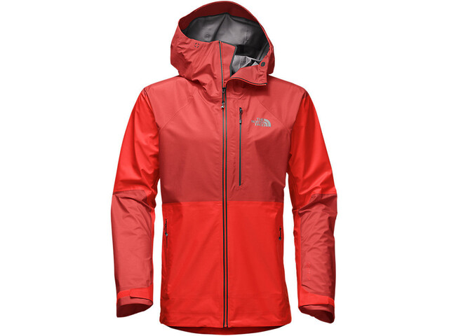 The North Face Summit L5 FuseForm GTX C-Knit Jacket Herr fiery red fuse